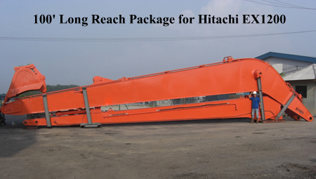 100' package for Hitachi EX1200