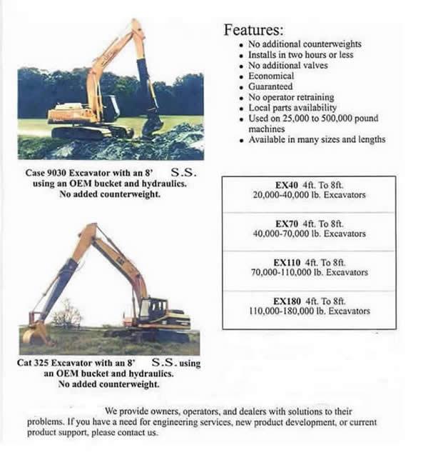 Stick Extensions - LRHR, LLC